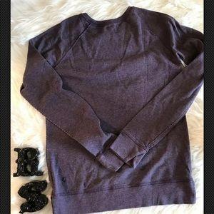 Lululemon Sz 6 Purple Sweatshirt